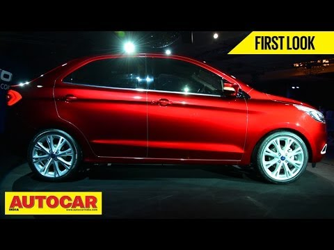 New Ford Figo Concept Compact Sedan | First Look Video