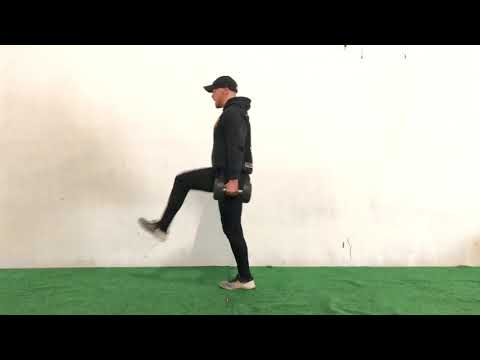 Dumbbell Forward to Reverse Lunge