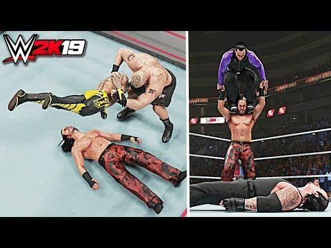 WWE 2K19 Top 10 Superstars Used as Weapons!