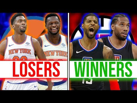 20 Winners and Losers This NBA Offseason (2018-19)
