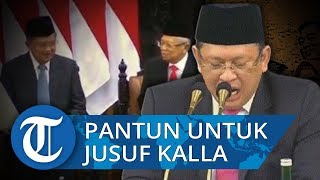Ketua MPR Sampaikan Pantun Bahasa Bugis sebagai Penghormatan Kepada Jusuf Kalla