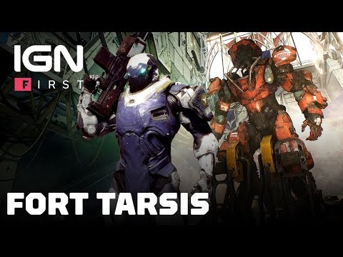Anthem : Fort Tarsis Exploration Gameplay - IGN First