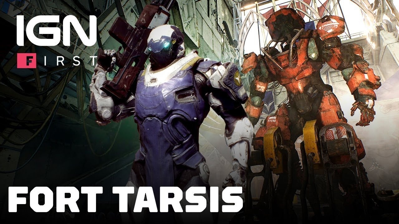 Mostrati  minuti di Gameplay di Fort Tarsis di Anthem