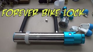 (633) Forever Bicycle U-Lock
