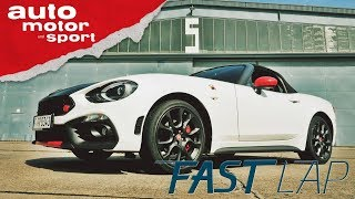 Abarth 124 Spider: Schlägt er den Mazda MX-5? - Fast Lap | auto motor und sport