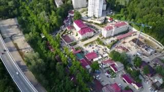 ЖК Мацеста Парк с квадрокоптера || Обзор недвижимости в Сочи с квадрокоптера