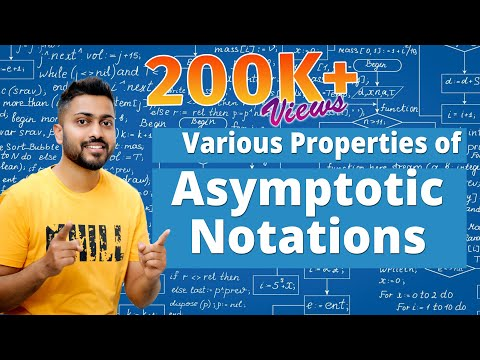 , title : 'L-1.4: Various Properties of Asymptotic Notation with Example | Algorithm | DAA