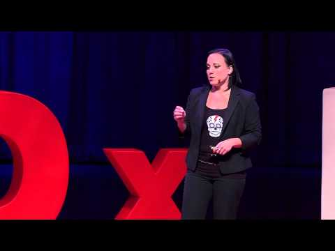 A novel solution to sex trafficking: Sandy Skelaney at TEDxMiami 2013