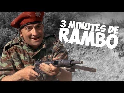 3 minutes de Rambo avec Louis de Funès !