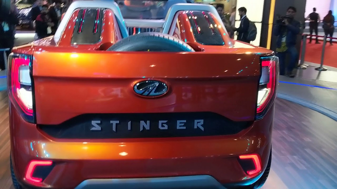Motoroctane Youtube Video - Mahindra Stinger Convertible SUV | Auto Expo 2018 | MotorOctane
