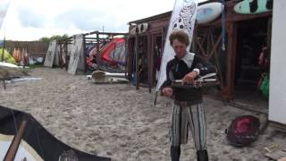 preview picture of video 'POLSPORTY.PL  JASTARNIA WINDSURFING'