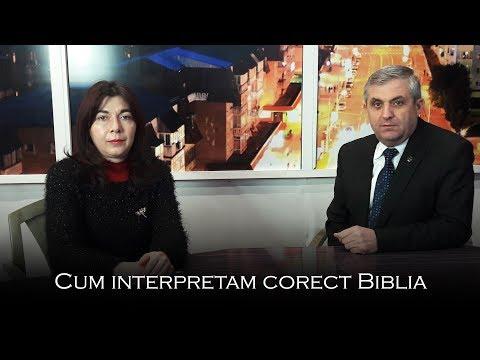 Cum interpretam corect Biblia