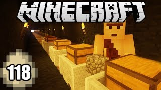 Minecraft Survival Indonesia - Kereta Tambang! (118)