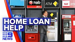 Coronavirus: Banks help with paused home loan repayments | 9 News Australia