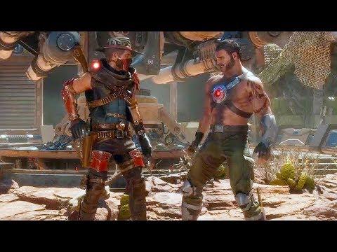 Mortal Kombat 11 — Erron Black Gameplay & Character Break