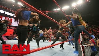 The Irish Lass Kicker brings the fight to Ronda Rousey and the entire Raw Women's division.  #Raw #SurvivorSeries   GET YOUR 1st MONTH of WWE NETWORK for FREE: http://wwenetwork.com --------------------------------------------------------------------- Follow WWE on YouTube for more exciting action! --------------------------------------------------------------------- Subscribe to WWE on YouTube: http://bit.ly/1i64OdT Check out WWE.com for news and updates: http://goo.gl/akf0J4 Find the latest Superstar gear at WWEShop: http://shop.wwe.com --------------------------------------------- Check out our other channels! --------------------------------------------- The Bella Twins: https://www.youtube.com/thebellatwins UpUpDownDown: https://www.youtube.com/upupdowndown WWEMusic: https://www.youtube.com/wwemusic Total Divas: https://www.youtube.com/wwetotaldivas ------------------------------------ WWE on Social Media ------------------------------------ Twitter: https://twitter.com/wwe Facebook: https://www.facebook.com/wwe Instagram: https://www.instagram.com/wwe/ Reddit: https://www.reddit.com/user/RealWWE Giphy: https://giphy.com/wwe