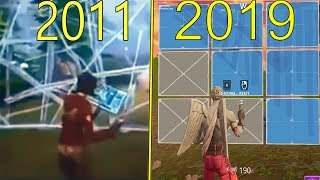 EVOLUTION FORTNITE 2011-2019 !