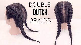How To: Double Dutch Braid | Hair Tutorial