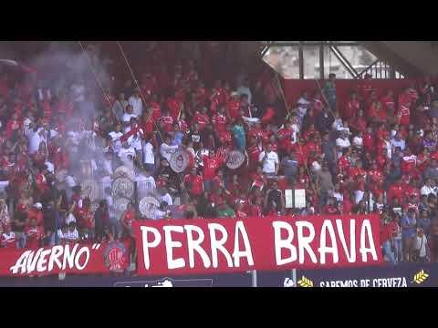 """LA BARRA PERRA BRAVA TOLUCA VS AMÉRICA"" Barra: La Perra Brava • Club: Toluca"