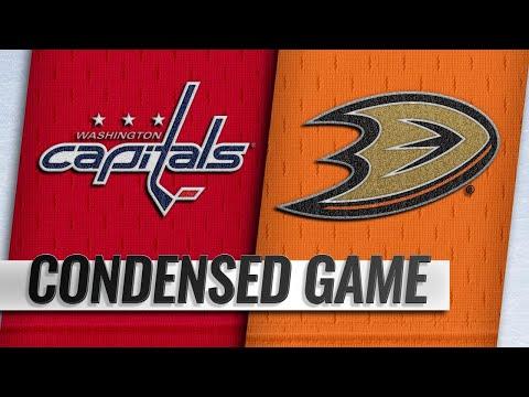 02/17/19 Condensed Game: Capitals @ Ducks