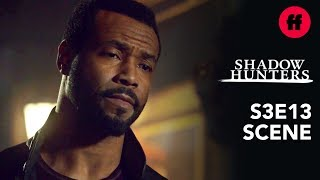 Shadowhunters Season 3, Episode 13 | Luke Wants Maia to Take Over The Pack | Freeform