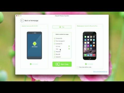 Best App for Phone to Phone transfer, Backup & Restore (iSkysoft Phone Transfer)