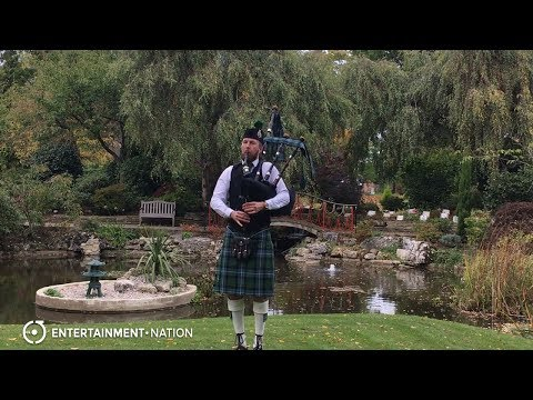 Elite Bagpipes - Blur Tender Cover