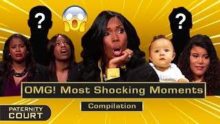 OMG! Paternity Court's Most Shocking Moments Pt. I (Compilation) | Paternity Court