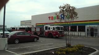 FDNY MRTU, Engine 310, 250 And Multiple NYP EMS Crews On Scene Of A 3 Alarm Brush Fire