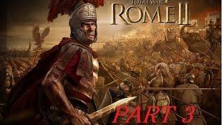 実況ローマ帝国の野望!TotalWarⅡをプレイ!part3