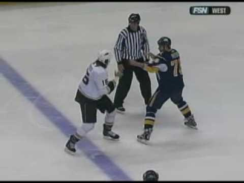 George Parros vs. Andrew Peters