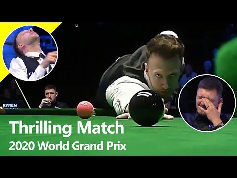 Exciting Snooker Match in Cheltenham | Judd Trump vs Kyren Wilson | 2020 World Grand Prix - Last 16