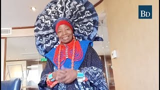 She has been crowned a Yoruba chief, a queen mother, an honorary