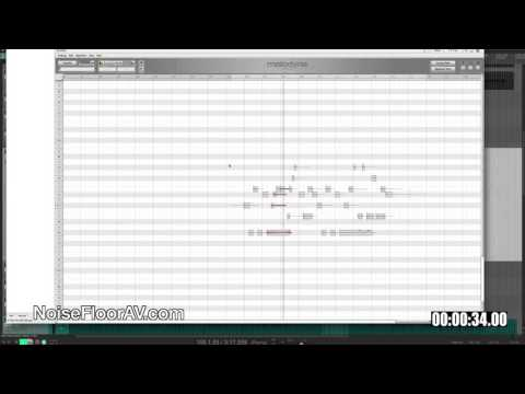 Replacing instruments with Melodyne