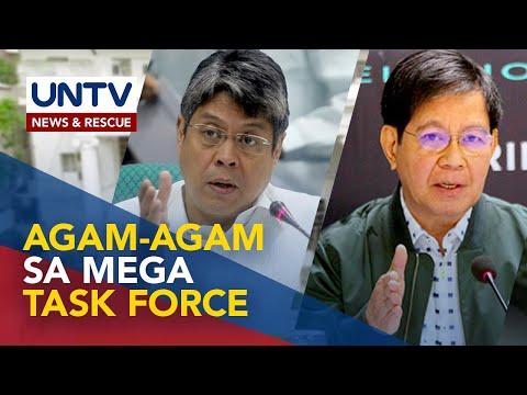 [UNTV]  Ilang senador, may agam-agam sa binuong 'mega task force' ni Pangulong Duterte