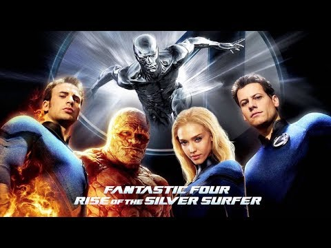 Fantastic Four Rise of The Silver Surfer Complete Game Movie