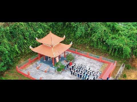 """Hàm Yên: Trường TH&THCS Nhân Mục thi """"Hát Quốc Ca tại địa chỉ đỏ"""""""