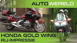 De Honda Gold Wing als ultieme vakantieauto op twee wielen!