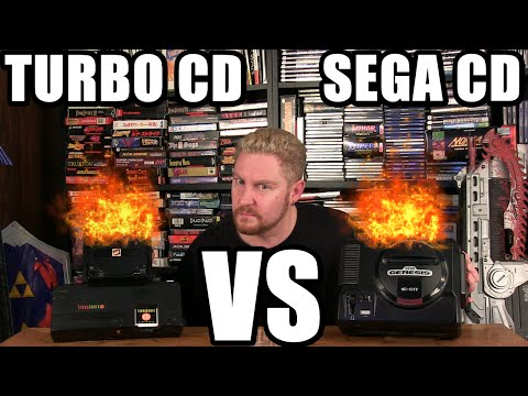 TURBOGRAFX VS SEGA CD! - Happy Console Gamer