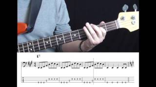 Roy Orbison   Pretty Woman (Bass Cover With Tabs In Video)
