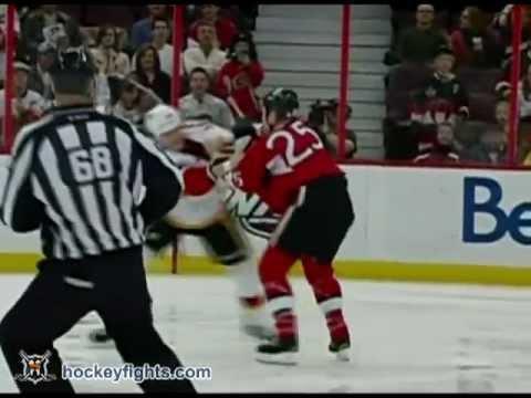 Tim Jackman vs Chris Neil