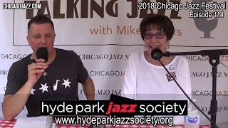 EPISODE 114 TALKING JAZZ with Mike Jeffers with guest Judith Stein