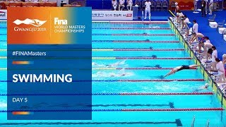 RE-LIVE |Swimming Day 5 | Main Pool |FINA World Masters Championships 2019