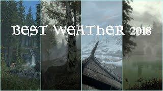 Skyrim SE: Ultimate Weather Mod Comparison 4K60 No ENB