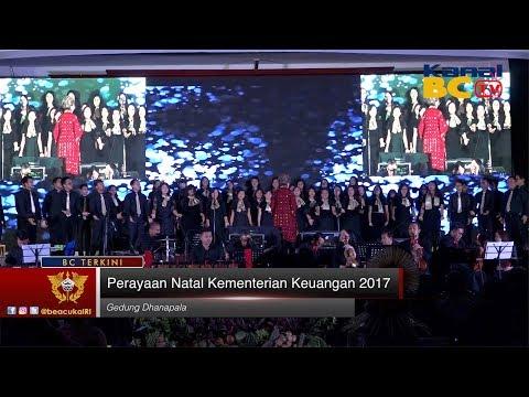 Perayaan Natal Kementerian Keuangan 2017
