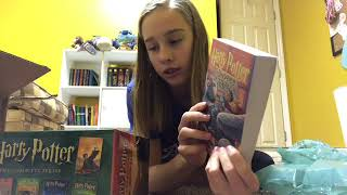 Harry Potter Book Unboxing