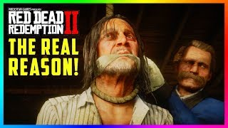 The REAL Reason Why Colm O' Driscoll Was Captured & Hanged In Red Dead Redemption 2 Will SHOCK You!