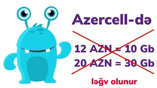 Azercell Genc Ol Paketi Legv Etmek