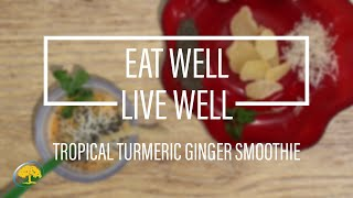 Ginger & Turmeric Smoothie