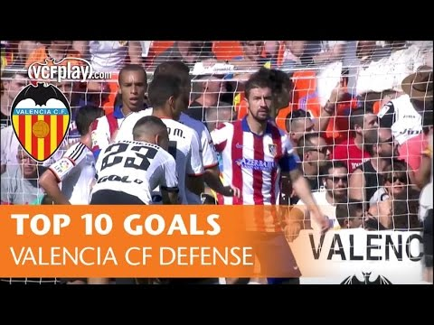 TOP 10 Valencia CF Defense Goals - Best Defense Is a Good Offense